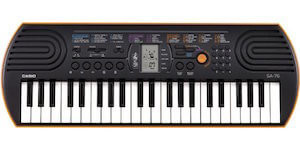 Casio SA-76 44 review