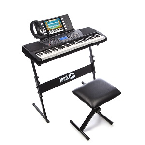 RockJam 561 Electronic Keyboard Super Kit