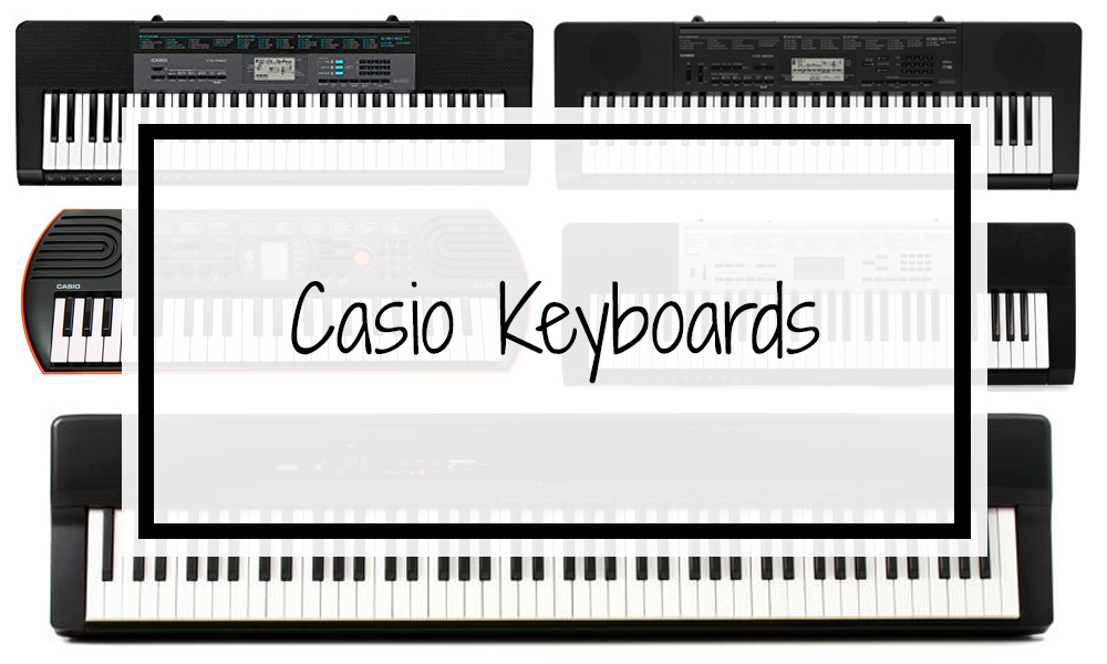 Casio Keyboards 2019: Prices, Reviews & Best Models (from