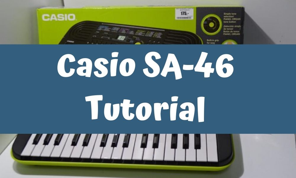 casio sa 46 tutorial
