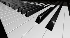 What are Piano Keys Made Of